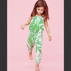 NWT Lilly Pulitzer Toddler Jumpsuit 3T